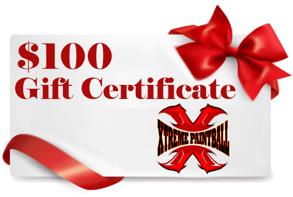 $100 Paintball gift certificate
