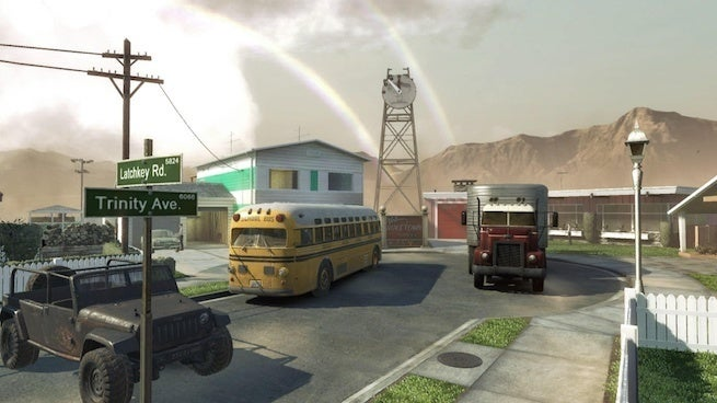 Nuke town video game photo