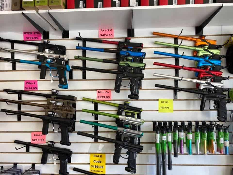 paintball markers in pro shop near hartford